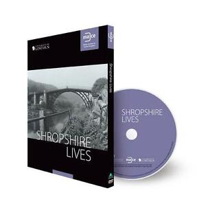 Shropshire Lives DVD case