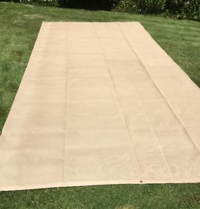 Large Fabric Shade Cloth (17' x 7')