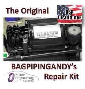 Audi Allroad Wabco Air Suspension Compressor Pump Repair-Refurbish Kit