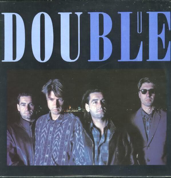 Double - Blue - audio cassette tape