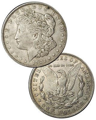 1921-P D or S Morgan 90% Silver Dollar $1 - VG-XF Grades  SKU28605