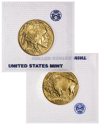 2014 1 Troy Oz .9999 24kt Gold American Buffalo $50 Coin US Mint Sealed SKU30449