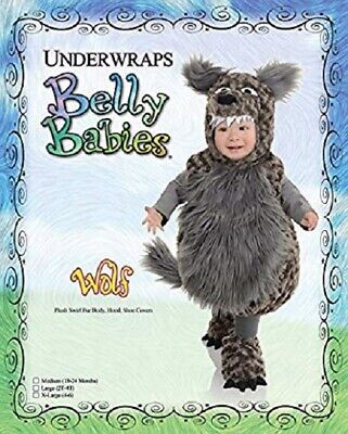 Underwraps Toddler's Wolf Belly Babies Costume, Me.(18-24 Months) #H-013 - Wolf Toddler Costume