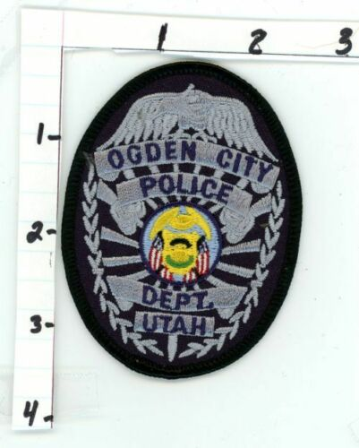 OGDEN CITY POLICE UTAH UT NEW COLORFUL PATCH SHERIFF STYLE 2