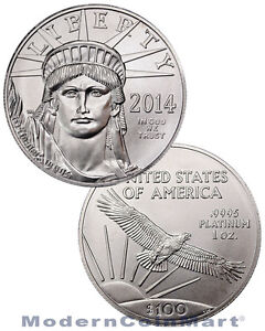 2014-1-Troy-Oz-9995-Fine-Platinum-Eagle-Liberty-100-Coin-SKU31011