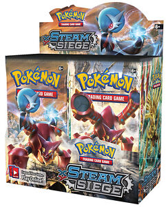 Pokemon XY Steam Siege Booster Box & Elite Trainer Now Available