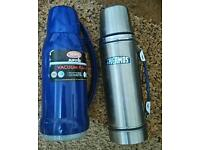 2 x Thermos flasks