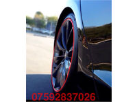 Alloy wheel protector Golf GTI R32 R Polo Beetle VW MK5 MK6 FSI TDI SE UP Lupo Corsa Astra VXR SRI