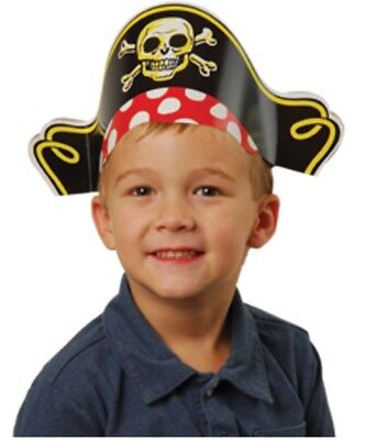 12 Paper Pirate Party Hats](Paper Pirate Hat)