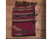 Women's long winter scarf