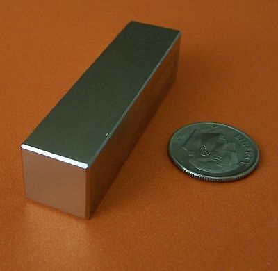 2 Strong Grade N42 2x1/2x1/2 Inch Rare Earth Neodymium Block Magnet, used for sale  Plano