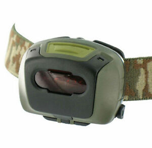 MILITARY-TACTICAL-HEAD-TORCH-RED-FILTER-BRITISH-ARMY-SURVIVAL-LAMP-HIKING-CADET