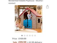 Keter wonderfold house. NEW!