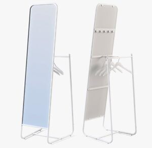 Standing mirror, white from Ikea