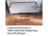 Landrover Discovery Dog Guard