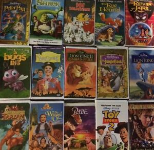 20+ Disney VHS movies & more