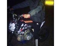 Swap my M2R 140 big wheel pit bike for kx 85