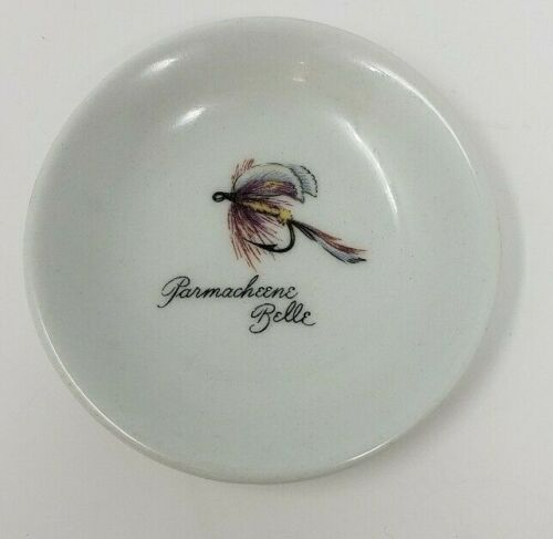 """Parmacheene Belle Trinket Dish 3 1/4"""" Decorated by Delano Studios China"""