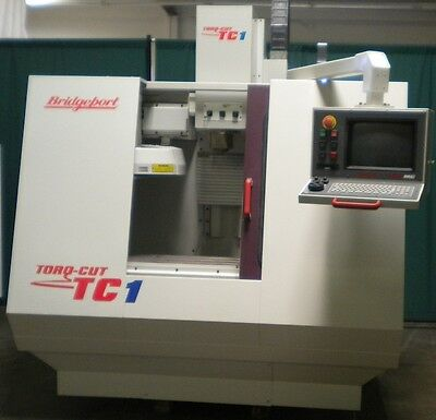 Bridgeport Tc-1 Cnc Vertical Machining Center Cnc Milling Centroid Cnc