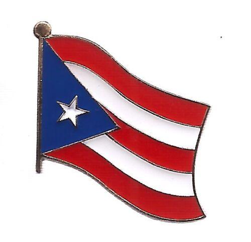 LOT OF 12 Puerto Rico Flag Lapel Pins - Puerto Rican Flag Pin