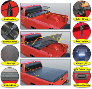 SOFT TRI-FOLD TONNEAU COVER. NEW IN BOX! $349.00 TONNO