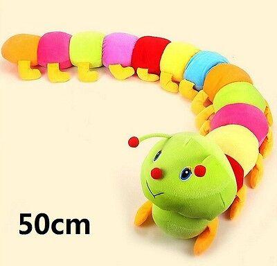 FD1093 Popular Colorful Inchworm Soft Developmental Child Baby Toy Doll Toy 50CM