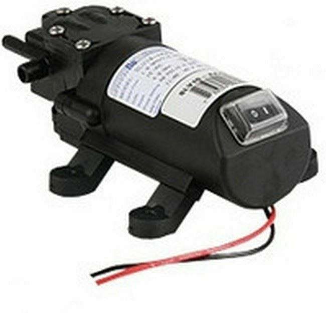 Shurflo 1.0 GPM SLV10-AA40 Automatic Demand 12V Pump with On/Off Switch | SLV10-