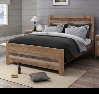 Queen Timber Bed - BRAND NEW