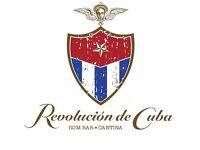 Chef de Partie - Revolucion de Cuba Manchester
