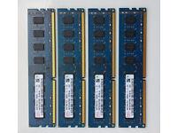 HYNIX PC3-12800U-11-11-B1 16GB (4x4GB) DDR3-1600Mhz Desktop memory - £60