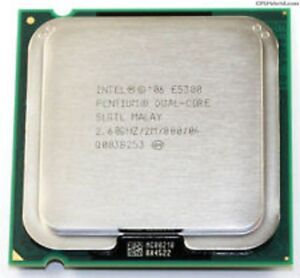 Intel E5300 CPU 2.6GHz  Dual Core $20