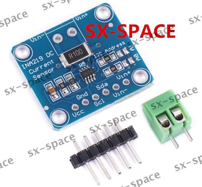 INA219 I2C Bi-directional DC Current Power Supply Sensor Breakout Pro Module NEW