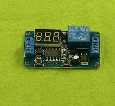 Dc 12v Led Display Digital Delay Timer Control Switch Module Plc Home Automation