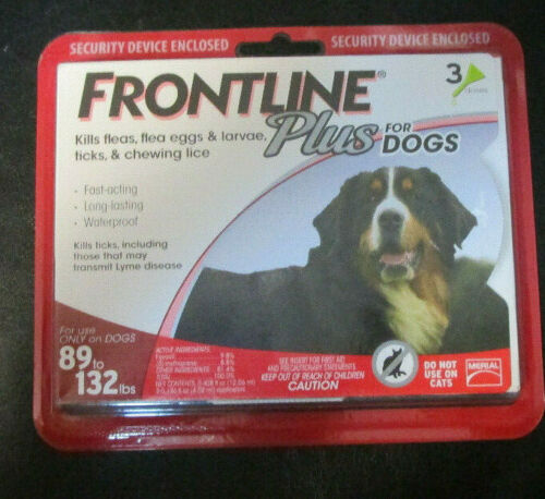 FRONTLINE Plus for Dogs 89 to 132 lbs