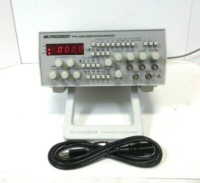 Bk Precision Model 4040a 20mhz Sweepfunction Generator Good Working.