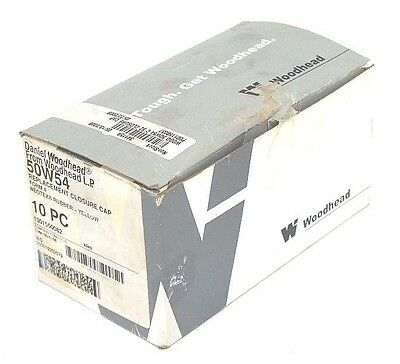 Box Of 10 New Daniel Woodhead 50w54 Replacement Closure Caps Form 4 Yellow