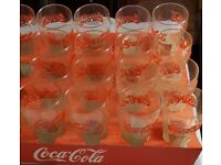 Coca Cola drinks glasses