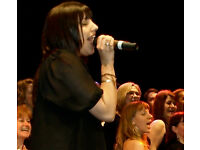 Improve your harmony & solo skills with a 140 strong pop, soul & gospel choir
