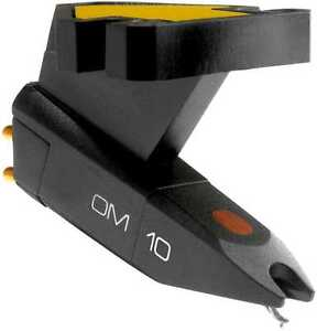 ORTOFON OM10 OMB10 MAGNETIC CARTRIDGE with ELLIPTICAL STYLUS & MOUNTING SCREWS