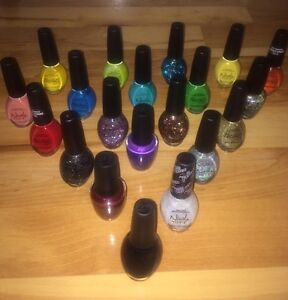 OPI nail polish and other good brands