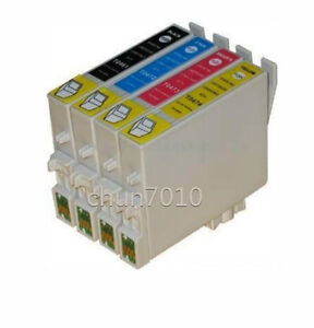4x T0601-T0604 ink cartridges for Stylus C88 CX3800 CX3810 CX4200 CX4800 Printer