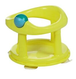 Swivel baby bath seat