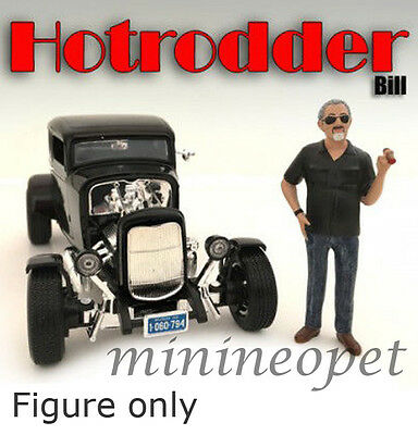 AMERICAN DIORAMA HOTRODDERS FIGURE FOR 1/18  DIECAST AD-24010 BILL