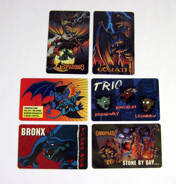 BVTV Gargoyles  Wallet Card Set (6) Nm/Mt