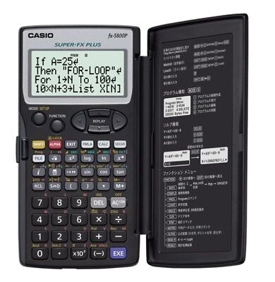 Genuine Casio FX-5800P Scientific Calculator Best in ebay!