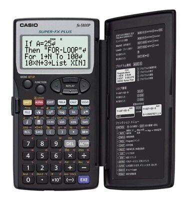 Genuine Casio FX-5800P Scientific Calculator Best in ebay! With Tracking