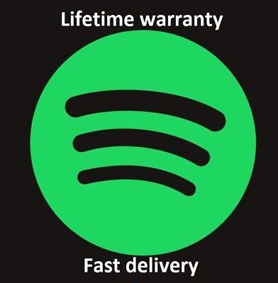 Spotify Premium Account || Lifetime warranty || Fast shipping