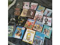 Bundle of 19 dvds.
