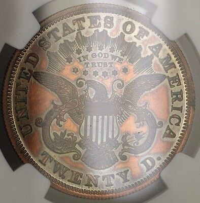 Click now to see the BUY IT NOW Price! 1875 $20 LIBERTY DOUBLE EAGLE PROOF PATTERN COIN  J 1448 NGC PF 61 WW NOT GOLD