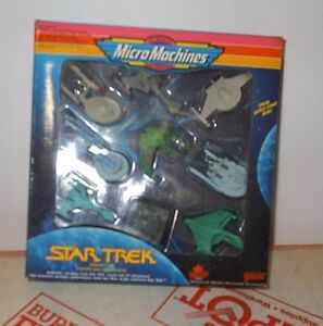 Star-Trek micro machines